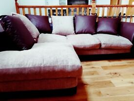 Corner Sofa - Excellent As New Condition