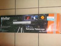 Vivitar refractor telescope