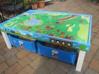 Thomas the Tank Engine & Friends Table and Wooden Railway