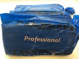 SCARVA Professional White Earthenware Clay 10 x 12.5kg Bags)