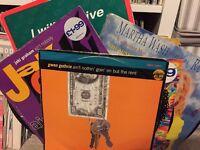 "46x 12"" Classic 70s Disco 80s vinyl records bulk collection singles albums"