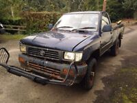 Toyota Hilux pickup wanted (diesel or petrol) 4x4/2wd