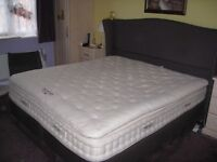 Pure rest ultima superking luxury pure wool bed, mattress and topper