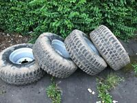 Landrover wheels & tyres offroad