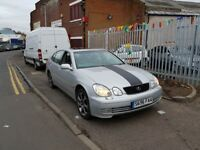 LEXUS GS 300**PART EXCHANGE TO CLEAR**BARGAIN**VALUE FOR MONEY**A LOT OF GADGETS FOR £595