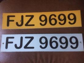 FJZ 9699 private reg ready to transfer make someones christmas