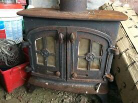 Yeoman Devon multi fuel log burner