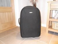 Black medium size suitcase