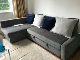 Grey Ikea sofa / sofa bed perfect condition