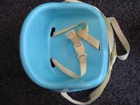 Mothercare Booster Seat - Bring your child to the table to join you at meal time
