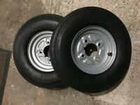X3 trailer Wheels