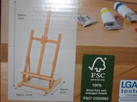 Brand New Artists Table Top Easel