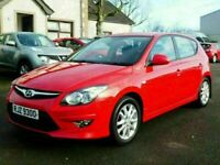 2010 Hyundai I30 1.4 petrol comfort with only 80000 miles, motd july 2021