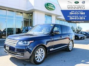 2016 Land Rover Range Rover Td6 HSE *BEST PRICE IN CANADA*