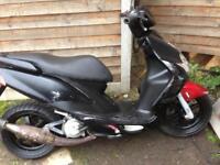 Yamaha jog rr 70cc (reg as a 50cc)