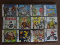 New Nintendo DS Games Only £5 Each family kids games Ideal for Christmas Presents gift