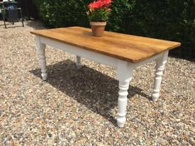 6ft Refurbished Old Vintage Farmhouse Table
