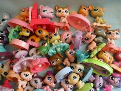 Littlest Pet Shop Lot 15 Random McDonalds Pets Dogs Cats Lps BUY 3 GET 1 FREE