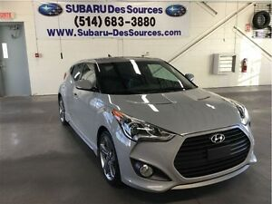 2013 Hyundai Veloster Turbo Tech GPS/Cuir 2 tons