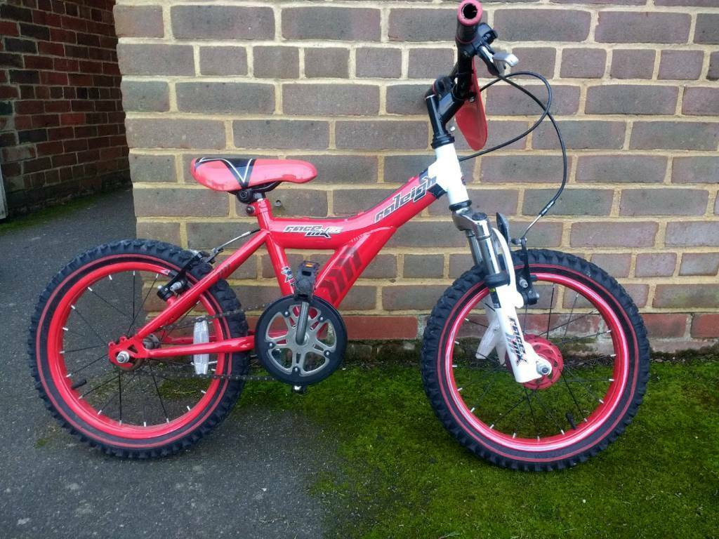 Raleigh boys mountain bike mx16 16 inch wheels