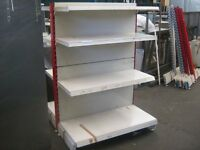 Good quality and condition shop click metal shelving.