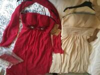 4 Brand New With Tags Bridesmaid Dresses