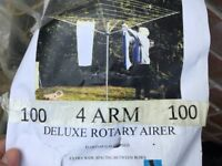 UNUSED 4 Arm Deluxe Rotary Airer Clothes Dryer