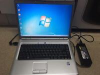 Dell laptop with office 2010 -Intel dual core-2 gb RAM-320 HDD