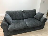 Charcoal Grey Double Sofa Bed