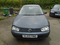 VW Golf Match - 1600 - 5 door - 5 speed manual