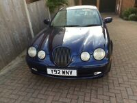 JAGUAR S-Type V6 Sports AUTO 3L Blue