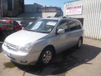 Kia SEDONA LS Auto,2902 cc 7 seat MPV,1 previous owner,Full MOT,FSH,sliding electric side doors