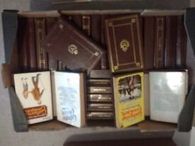 37 paperbacks on brown hardbacks covers. 1970s C. Cookson J. Chapman B. Taylor and others.