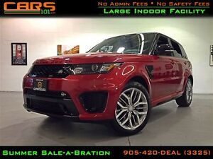 2015 Land Rover Range Rover Sport SVR | Special Vehicle Operatio