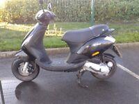 2010 piaggio zip 50cc moped scooter , 12 months mot