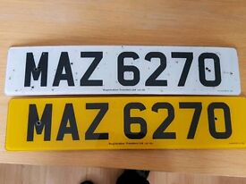 Private Number Plates for Sale