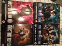DVD Dr who box sets x4