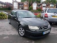 2004 54 SAAB 9-3 2.0 LINEAR AUTOMATIC 4 DOOR LONG MOT GOOD RUNNER TOWBAR