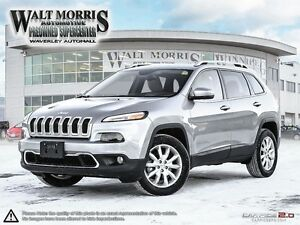 2016 Jeep Cherokee Limited - LEATHER, HEATED SEATS, REAR VIEW CA