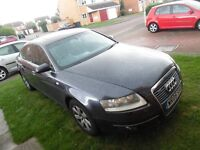 breaking audi a6 c6 3.2fsi quattro automatic not spare or repair not damaged leather new tyres nice