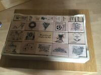 Ink dye stamps