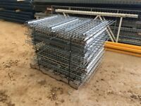 Steel Wire Mesh Pallet Racking Decking Decks Boards fitting 1320mm x 900mm