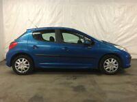 2007 Peugeot 207 1.4 S 5dr **Full Years MOT** Cheap Cars Glasgow