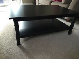 IKEA lack black coffee table