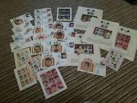 Elvis stamps. Joblot