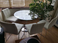NEXT Table with Chairs Set of 4