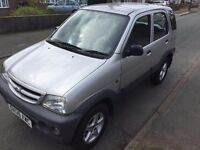 Daihatsu TERIOS 4x4 1.3 petrol low mileage 1 year MOT