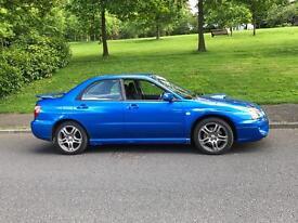 Subaru Impreza WRX Blue Classic No Modifications