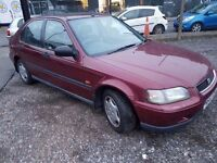 1996 HONDA CIVIC 1.6 VTECH...LOW MILES.AUTOMATIC..QUICK SALE
