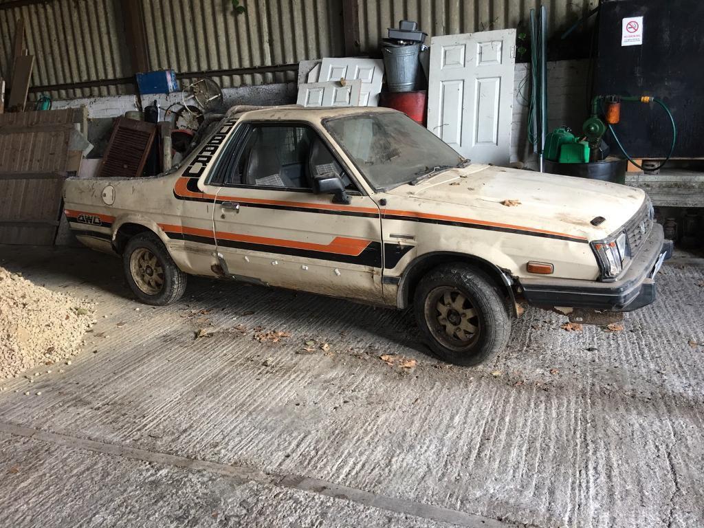 Barn Find Subaru Brat Pick Up GBP175